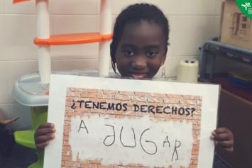 Día universal de los derechos de los niños y niñas en el Centro de Tiempo Libre SIN MUGAS – Zaragoza