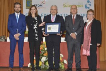 El Colegio San Juan Bosco de Salamanca recibe el Sello de Excelencia Europea EFQM 500+