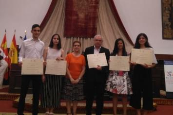 Premios mejores estudiantes de la EBAU – Salamanca