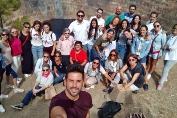 Convivencia de profesores y hermanas en Valverde del Camino