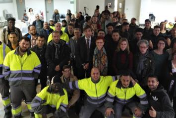 """La Fundación María Auxiliadora – Terrassa asiste como testimonio al acto de clausura de """"Treball als barris 2018"""""""