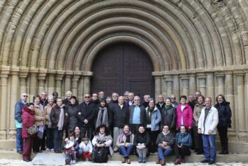 Convivencia de la Familia Salesiana de Aragón en Villanueva de Sijena