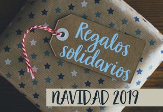 Regalos solidarios - Navidad 2019