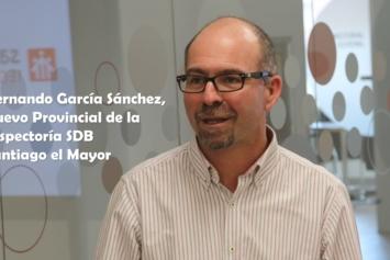 Fernando García Sánchez, nuevo Provincial de la Inspectoría salesiana Santiago el Mayor