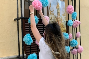 María Auxiliadora… ¡¡En casa con María!! (I)