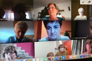 Reunión Junta, Presidentas y Delegadas de la Federación Nuestra Señora del Pilar