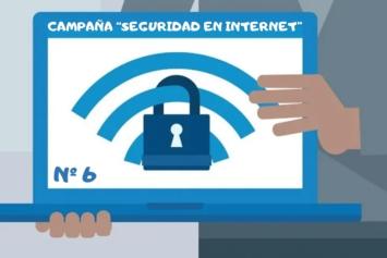 """Campaña """"Seguridad en Internet"""" (VI)"""
