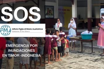 Emergencia por inundaciones en Timor – Indonesia